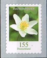 Bund 2019,Michel# R ** Blumen: Buschwindröschen Selbstklebend Mit Nr 100er Rolle - [7] Federal Republic