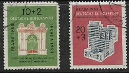 Germany, F.R., 1953,IFRABA,  Philatelic Exhibition, Used - [7] Federal Republic