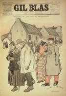 GIL BLAS-1893/14-GUY MONPASSANT-THEODORE BOTREL-RICHEPIN-A.GUILLAUME - Livres, BD, Revues