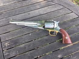 Revolver Remington 1958 Pietta Inox Cal44, Poudre Noire - Armes Neutralisées