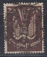 DR 265, Gestempelt, Geprüft, Flugpostmarke 1923 - Infla