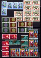 Luxembourg 1970, Timbres Neufs ** Par 5 Ex. Entre Yv. 754 Et 763**, Cote 28 €, - Unused Stamps