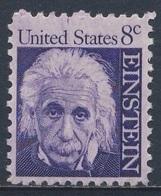 USA 1966 Mi 896 X SG 1267 ** Albert Einstein (1879-1955)  Physicist, Nobel Prize 1921 / Physiker, Nobelpreis 1921 - Nobelprijs