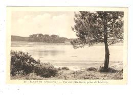 CPA 29 LOCTUDY Vue Sur L'Ile Garo Prise De Loctudy 1952 - Loctudy