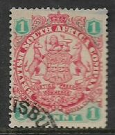 Southern Rhodesia / B.S.A.Co, 1896, Arms Die I, 1d,  Used - Southern Rhodesia (...-1964)
