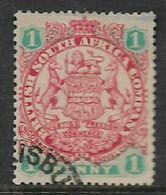 Southern Rhodesia / B.S.A.Co, 1896, Arms Die I, 1d,  Used - Rhodésie Du Sud (...-1964)