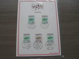 "BELG.1972 1623-1624 FDC Filatelia Card : ""EUROPA "" - FDC"