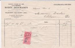 Cl 5)  Documents Divers /Facture 1940 - Documents