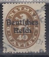 DR Dienst 39, Gestempelt, Geprüft, 1920 - Dienstpost