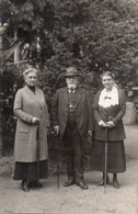 FOTOCARTOLINA-REAL PHOTO-GERMANY-UOMO E DONNE-1922 - Fotografia