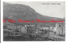 GALERIA CORSE ENTREE DU VILLAGE - POUR LOUVET NICE - CPA - Autres Communes