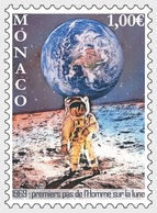 H01 Monaco 2018 50th Anniversary Of The Moon Landings  MNH Postfrisch - Monaco