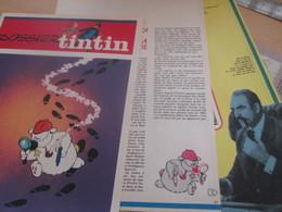 SPI2019 : Milieu Des 70's 3 FEUILLES 6 PAGES Issue De Revue TINTIN : DOSSIER LES AS DU ROMAN POLICIER - Livres, BD, Revues