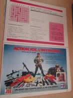 SPI2019 : Milieu Des 70's 1 PAGE Issue De Revue TINTIN : ACTION JOE L'INVINCIBLE Plastifiable Sur Demande - Leger