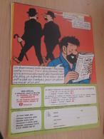 SPI2019 : Milieu Des 70's 1 PAGE Issue De Revue TINTIN : REABONNEMENT HADDOCK ET LES DUPOND/T - Advertisement