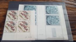 LOT 462191 TIMBRE DE FRANCE NEUF** LUXE  COIN DATE BLOC - Poste Aérienne