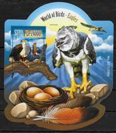 SIERRA LEONE BF 812  * *  ( Cote 20e )  Oiseaux Aigles - Aigles & Rapaces Diurnes
