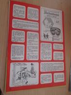 SPI2019 : Milieu Des 70's 1 PAGE Issue De Revue TINTIN : TINTIN MILOU FROMAGE RICHEDOUX RICHES MONTS - Advertisement