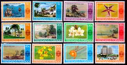 TRINIDAD & TOBAGO   1976/78  ORCHIDS>HOTELS>.PAINTINGS    MNH - Trinidad & Tobago (1962-...)