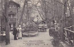 Hauts-de-Seine - Ville-d'Avray - Le Restaurant Cabassud - L'Etude Du Menu - Ville D'Avray