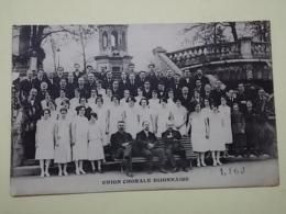 KOV 909 - DIJON, UNION CHORALE DIJONNAISE, CHOR, ORCHESTRE - Francia