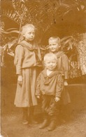 FOTOCARTOLINA-REAL PHOTO-GRUPPO BAMBINI-1905 - Fotografia