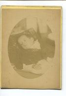 Photographe Jules Aubry Paris Photo Orignale Enfant Mort Croup 1889 - Photos