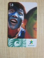 StarHub Chip Phonecard, Code: AC1A100, Children,with Picture Of Shell - Singapore