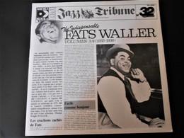 Disque 33 Tours (double Album) Jazz Blues THE INDISPENSABLE FATS WALLER Volumes 3/4 (1935-1936) - Jazz