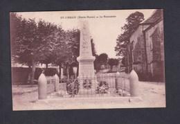 Saint St Urbain (52) Le Monument Aux Morts ( Guerre 14-18) - Autres Communes