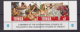 Tonga UNESCO Set MNH - UNESCO