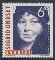 Sweden Sverige 1998 Mi 2083 SG 2004 ** Sigrid Undset (1882-1949) Norwegian Novelist - Nobel Prize Literature 1928 - Nobelprijs