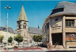CPM - édit. Photo Sully - 1470 - USSEL - Place Alsace-Lorraine - Au 1er Plan : LA POSTE - Ussel