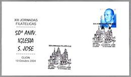 50 Años IGLESIA SAN JOSE. Gijon, Asturias, 2004 - Iglesias Y Catedrales