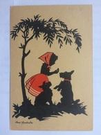 GERMANY 1944 Pictorial Postcard With `zur Ortsangabe Gehort Stets Die Postleitzahl` Slogan Postmark - Briefe U. Dokumente