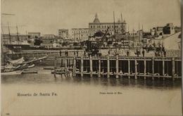 Argentina - Argentine // Rosario De Santa Fe. // Vista Desde El Rio Ca 1900 - Argentinië
