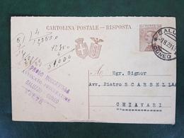 42031 STORIA POSTALE ITALIA 1929 - Marcophilie