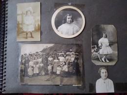 ALBUM Photos De Famille - Début 1900 Jusqu'à 1960 - Environ Plus De 280 Photos - BE - Album & Collezioni