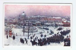 WIEN:  KARLSPLATZ  MIT  KARLSKIRCHE  -  F. PIPPICH  909  -  KLEINFORMAT - Regimente