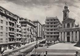 9461-GENOVA-VIA BERTUCCIONI E CHIESA PARROCCHIALE-FG - Genova