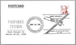 Sonda Espacial DEEP SPACE 1. Park Forest IL 1998 - FDC & Conmemorativos