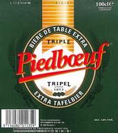 Lot 25 Etiquettes Bière De Table Extra Pieboeuf Tripel Extral Tafelbier - Beer