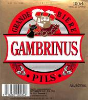 Lot 15 Etiquettes Grande Bière Gambrinus Pils - Bier