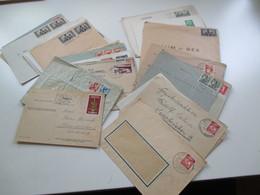 All. Besetzung Saargebiet 1947 - 55 Belege / Kartenposten Mit 32 Stk. Firmenbriefe / Bedarf Und Sonderstempel. MeF / EF - 1947-56 Allierte Besetzung