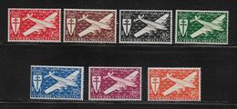 SAINT PIERRE ET MIQUELON  ( SPMA - 103 )  1942  N° YVERT ET TELLIER  N° 4/10   N* - Unused Stamps