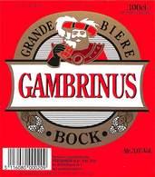 Lot 21 Etiquettes Grande Bière Gambrinus Bock - Beer