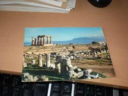 Corinth The Temple Of Apollo - Greece