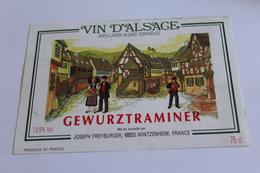 Gewurztraminer - Wintzenheim - Joseph Freyburger - Gewurztraminer