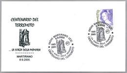 100 AÑOS DEL TERREMOTO - 100 YEARS OF EARTHQUAKE. Martirano, Catanzaro, 2005 - Geología