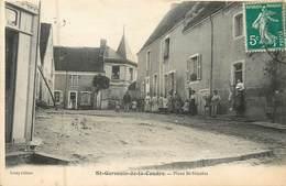 61  Orne :  Saint-Germain De La Coudre  Place St- Nicolas      Réf 6705 - France